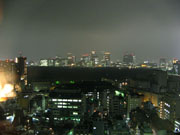Tokyo from my hotel room window